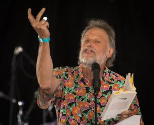 Ian Gibbins at the Gorgeous Festival. Photo Andrew Noble