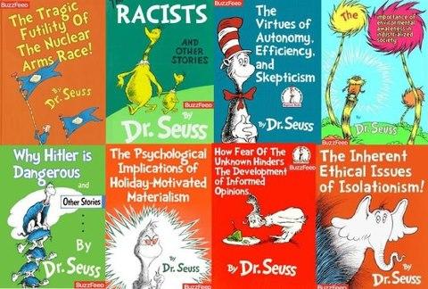 Alternative book titles Dr Seuss Street of Dreams