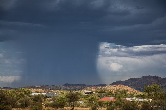 Alice Springs Downpour