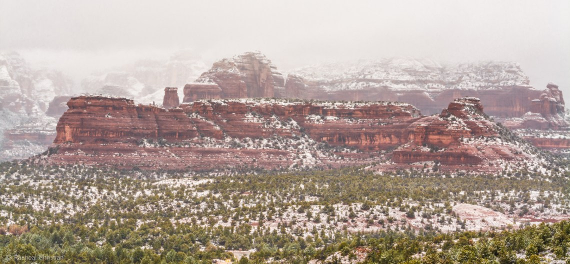 Photo Of The Week: 'Winter In Sedona' by Racheal Christian