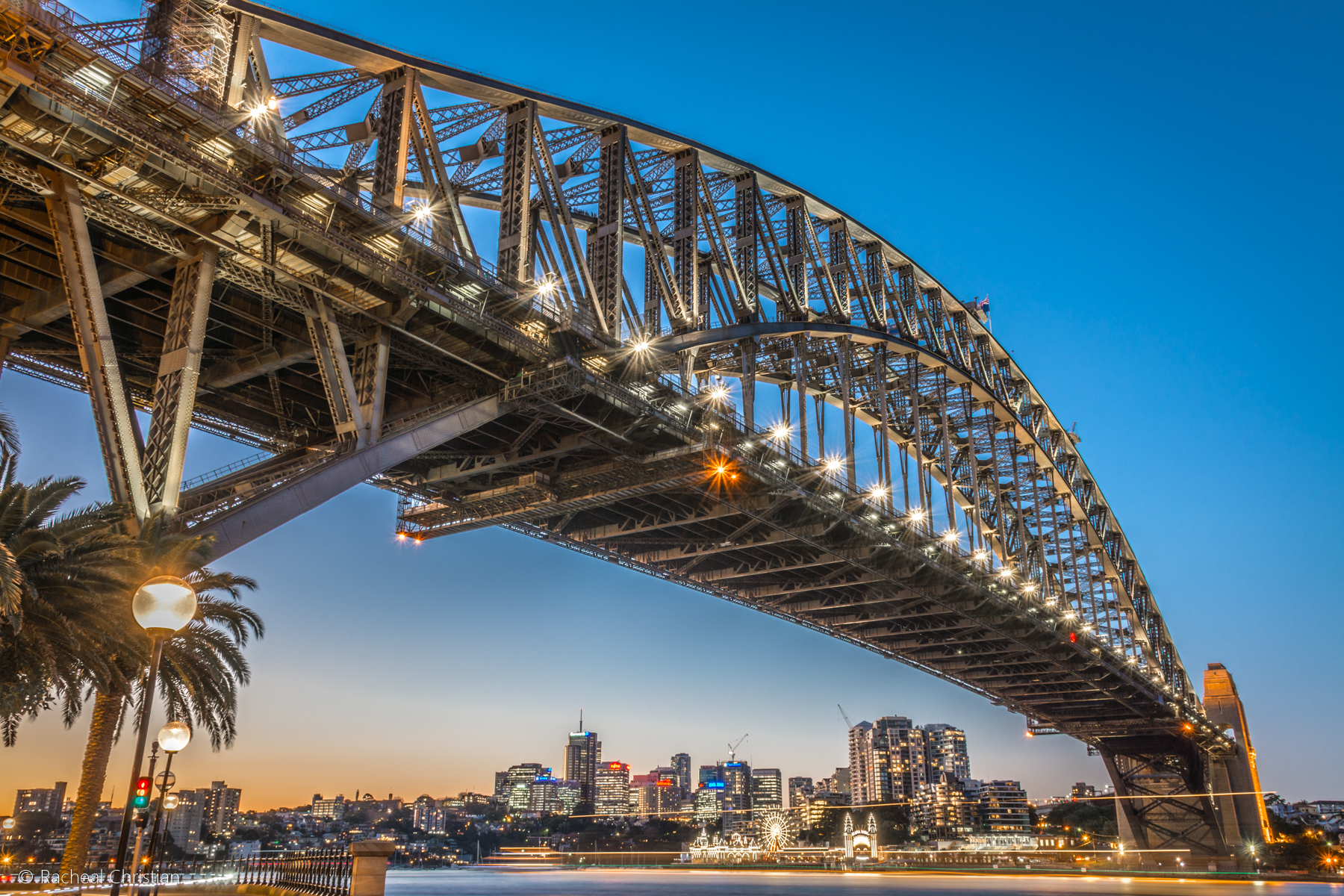 Photographing Sydney   A Night At The Rocks by Racheal Christian - Sydney Harbour Bridge