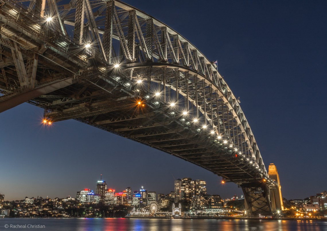 Photographing Sydney | A Night At The Rocks by Racheal Christian - Sydney Harbour Bridge