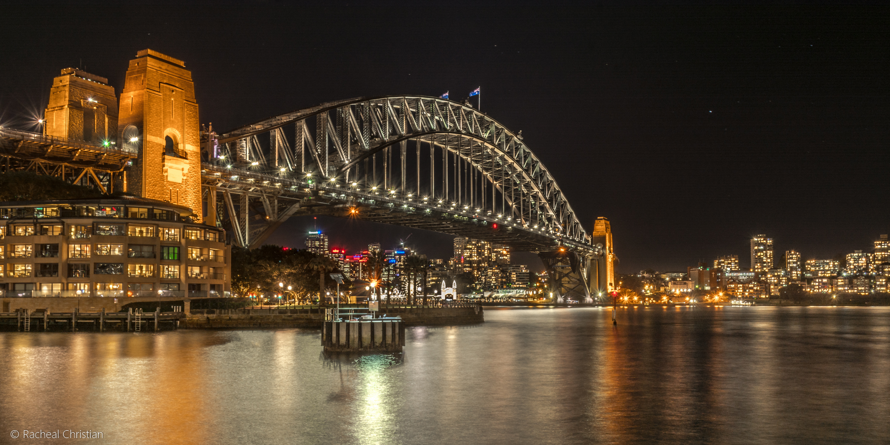 Photographing Sydney   A Night At The Rocks by Racheal Christian - Sydney Harbour At Night