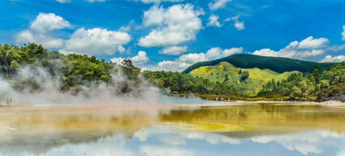 Wai-O-Tapu Thermal Wonderland |Rotorua, New Zealand - Champagne Pool by Racheal Christian
