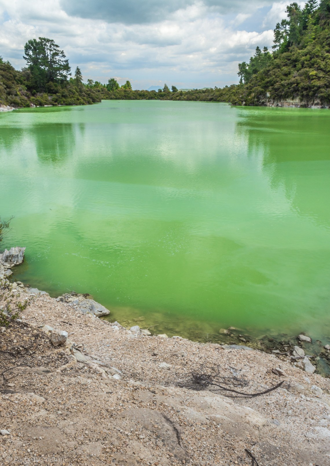Wai-O-Tapu Thermal Wonderland |Rotorua, Lake Ngakoro New Zealand by Racheal Christian