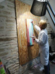 Peinture Abstraite -Atelier Rachel SEGUIN