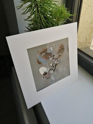 N°9 Acrylique sur papier