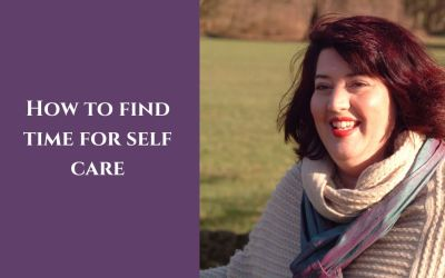 How to find time for self care