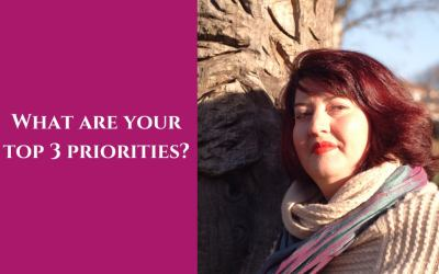 What are your top 3 priorities?
