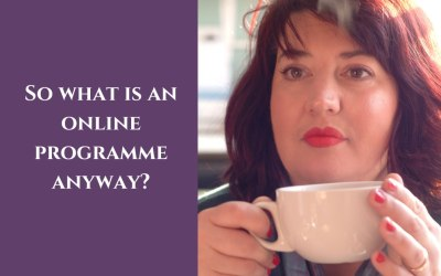 So what is an online programme anyway?