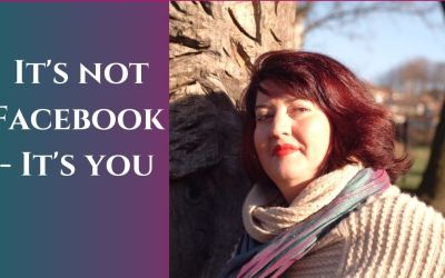 It's not Facebook – it's you!