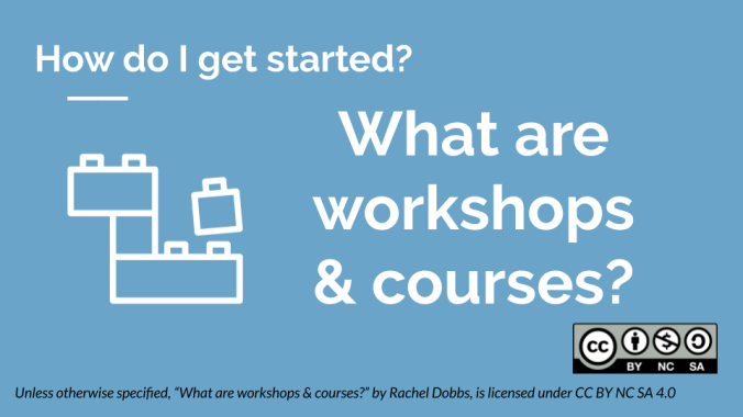 What is a workshop? banner image