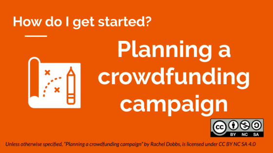 Planning a crowdfunding campaign banner image