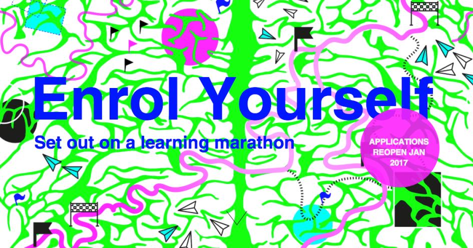 Enrol Yourself - Start a Learning Marathon