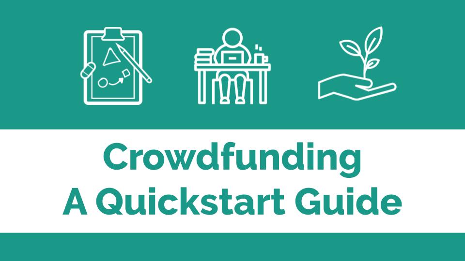 Crowdfunding quickstart guide banner image