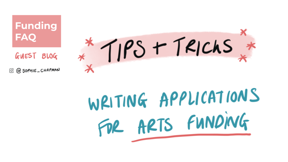 Cover Image: Tips & Tricks - Writing Applications for arts funding