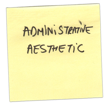 administrative-aesthetic