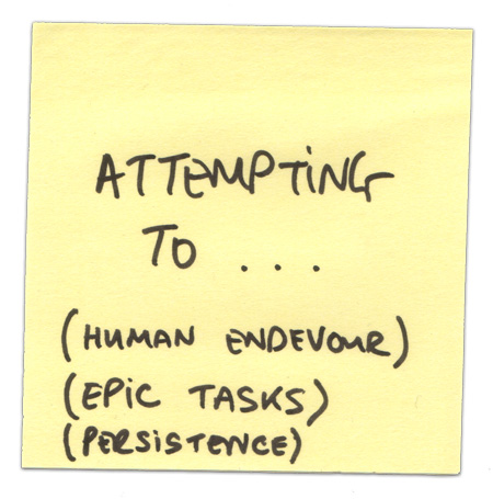 attempting-to