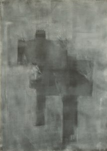 rachela abbate without-title-gray-oil-70x50-by-Rachela-Abbate paintings