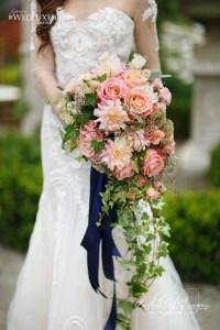 Botanical Gardens Navy and Peach Wedding - Rachel A ...