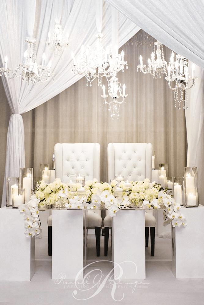 Head Tables  Wedding Decor Toronto Rachel A Clingen