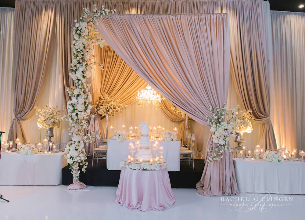 Victor and Matinas Cherry Blossom Wedding At Grand Luxe  Rachel A Clingen Wedding  Event Design