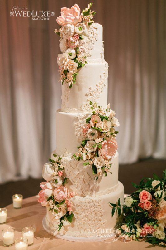 luxuryweddingcake  Wedding Decor Toronto Rachel A Clingen Wedding  Event Design