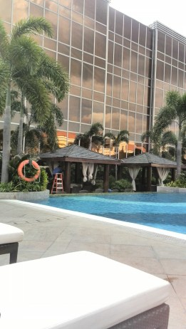 Pool at Maxims Hotel