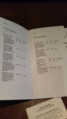 LIT menu items