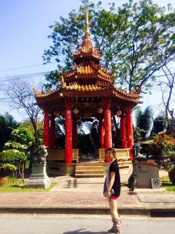 Temple at Lumpini Park