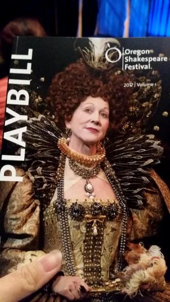 Shakespeare festival playbill