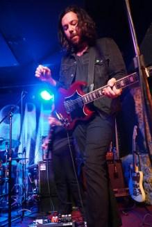 Graham Fink of Milo Greene live at Bottom Of The Hill, San Francisco, CA. 3/9/2017. Photo courtesy of Ryan Herceg.