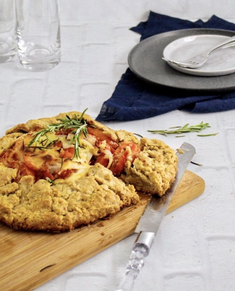Sun-Dried Tomato Galette with Rosemary