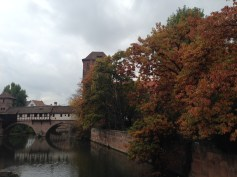 Autumnal view of the Pegnitz