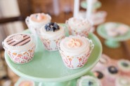 Bridal Luncheon Cupcakes | Photo by Angie McPherson Photography