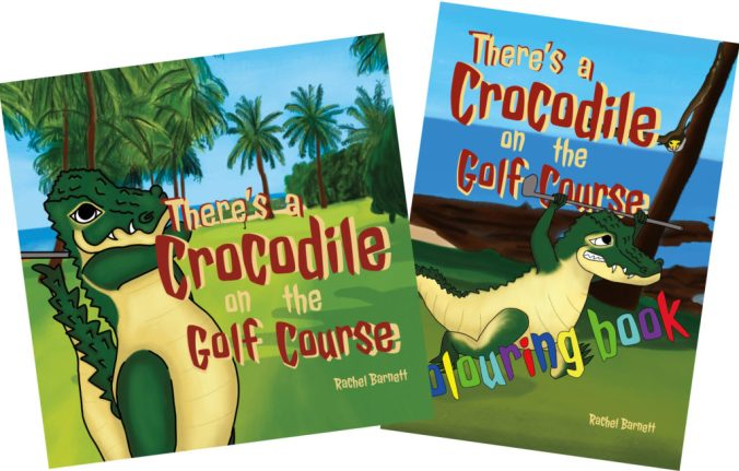 There's a Crocodile on the Golf Course Book Pack