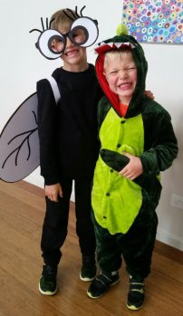 There's a Crocodile on the Golf Course by Rachel Barnett. Book Week Costumes 2017.