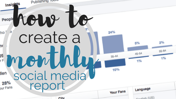 Template how to create a monthly social media report how to create a monthly social media report maxwellsz