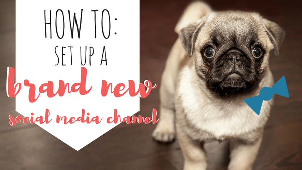How to set up a brand new social media channel