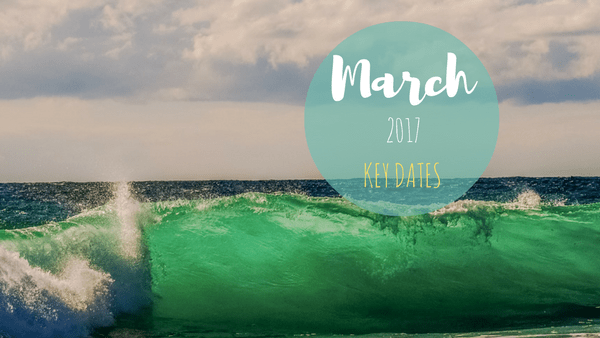 Social Media Content Plan Ideas: March 2017