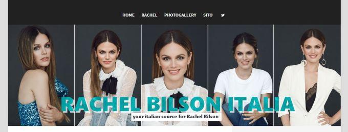 Bentornati su Rachel Bilson Italia!