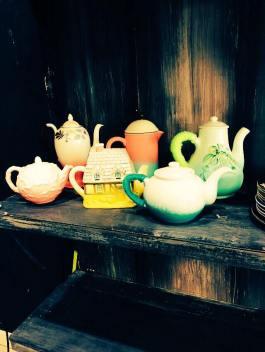 Theatre deli teapots