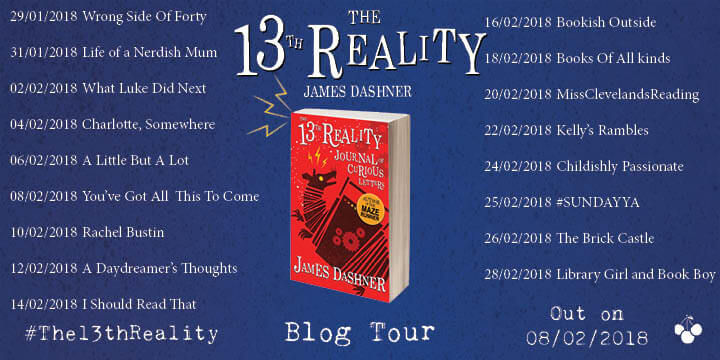THE 13TH REALITY - BLOG TOUR BANNER (1)