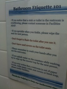 Funny Office Etiquette Year Of Clean Water