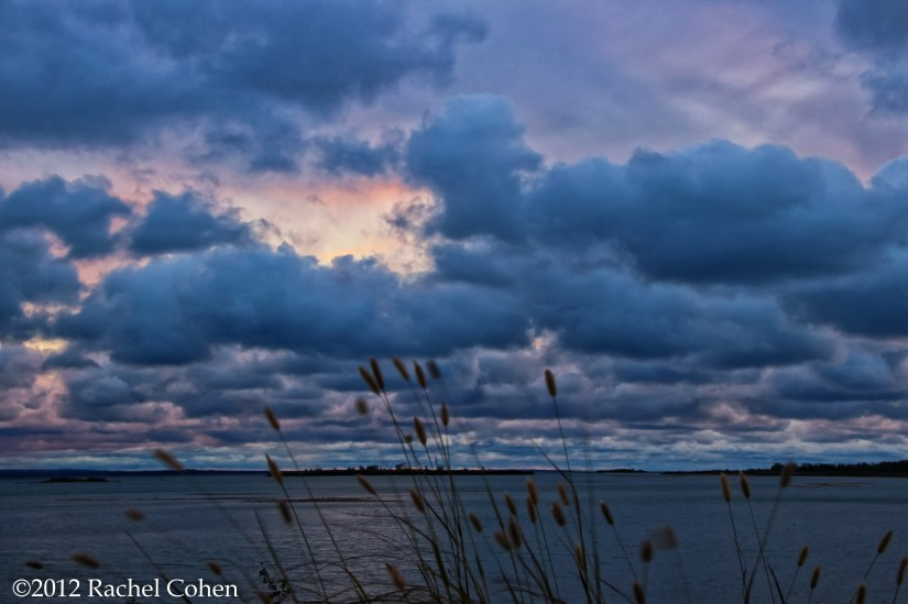 Cloudy Lake Michigan Sunset!