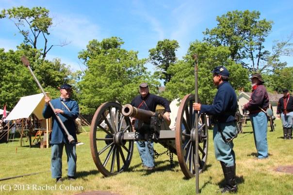 """""""Civil War Drill at Greenfield"""""""
