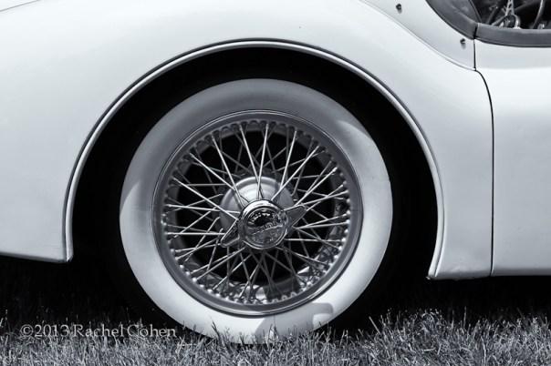 1955 Jaguar- mono