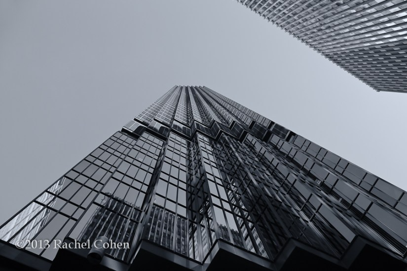 """IDS Tower Reflections"" mono"