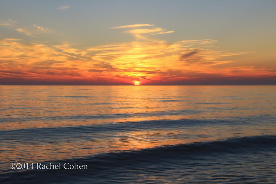 """Sunset Rolls In"""
