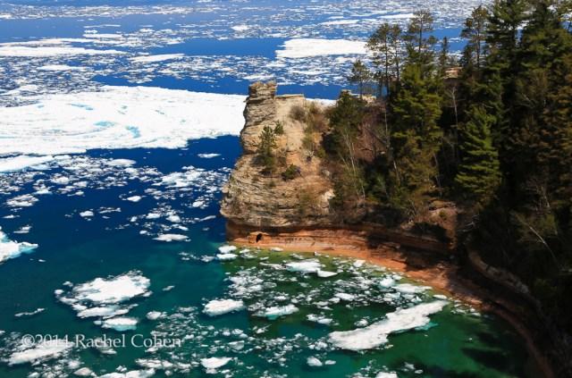 """Miner's Castle on Ice"""
